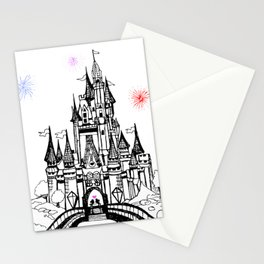 Mouse in Love Stationery Cards