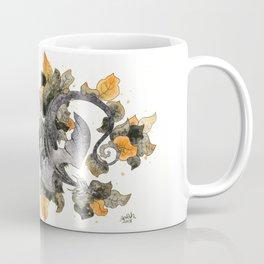Dragon in Leaves Coffee Mug