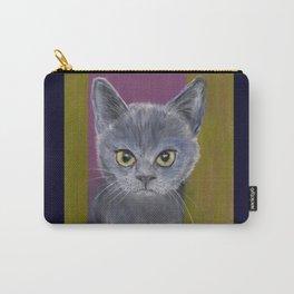 Warrior Kitten Carry-All Pouch