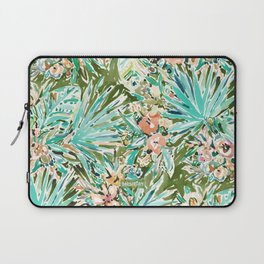 FAN OUT Tropical Palmetto Floral Laptop Sleeve