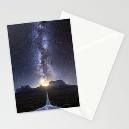 Monument Valley Milky Way Stationery Cards