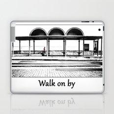 Walk on by Laptop & iPad Skin
