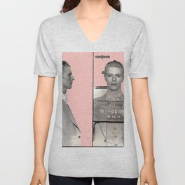 PINKY BOWIE ARRESTED Unisex V-Neck