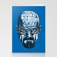 quotes Stationery Cards featuring Heisenberg Quotes by RicoMambo