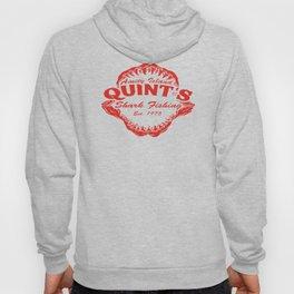 Quint's Shark Fishing Amity Island T-Shirt Tee Jaws Funny 70's Movie T Orca red Hoody