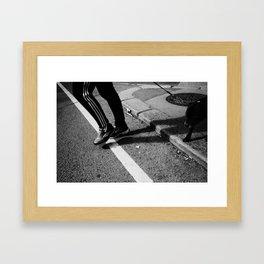 locus in quo Framed Art Print