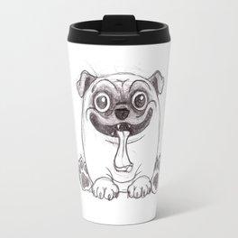 Mozart The Pug Travel Mug