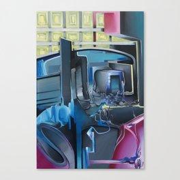 Stadt-Land Canvas Print