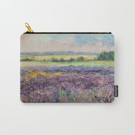 Provence Lavender Carry-All Pouch