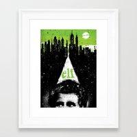 elf Framed Art Prints featuring Elf by Dan K Norris