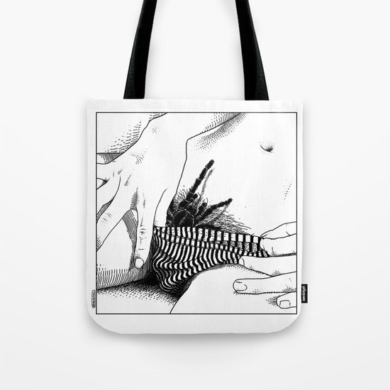 asc 472 - L'heure du repas (Feeding time) Tote Bag