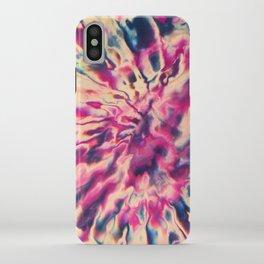 Purple Tie Dye #1 iPhone Case