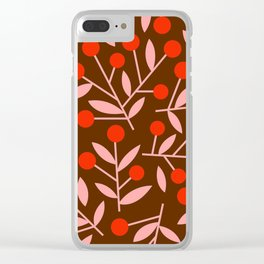 Cherry Blossom_002 Clear iPhone Case