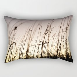 Sunset on Tybee Rectangular Pillow