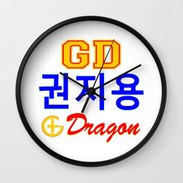 BigBang-GD-GDragon Kwon JiYong Wall Clock