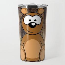 Teddy Bear wake up Travel Mug