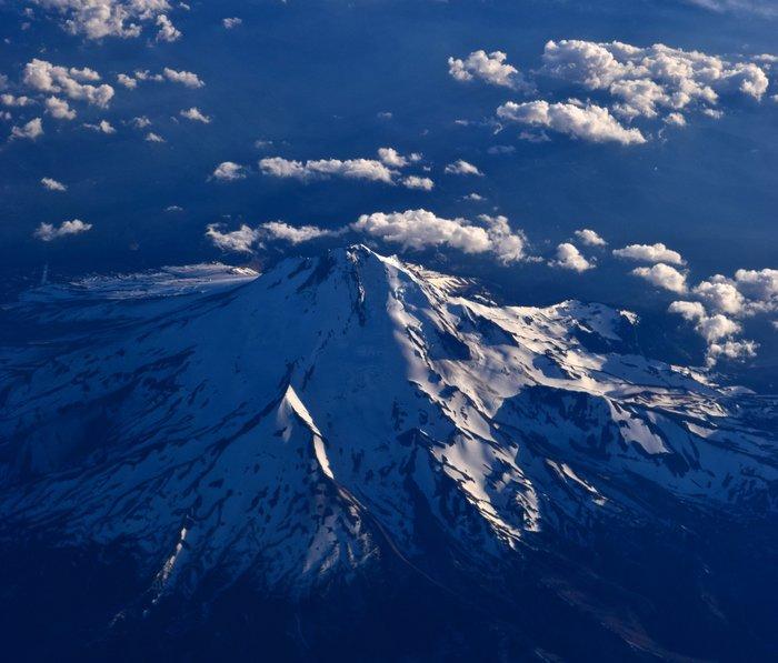 Mt. Hood Aerial Metal Travel Mug