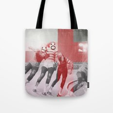 Punchtuation Roller Derby Tote Bag