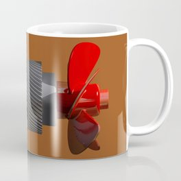 Propeller with gear Coffee Mug
