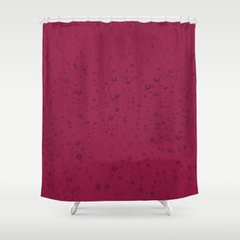 Red Beaujolais Champagne Bubbles Sparkling Wine Shower Curtain