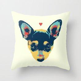 Pet Thoughts Throw Pillow