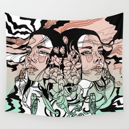 Warm of the Cool Wall Tapestry