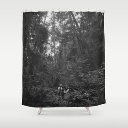 Keepers of the Forest Shower Curtain