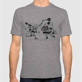 The ultimate fast food fight! T-shirt