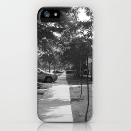 A long path iPhone Case
