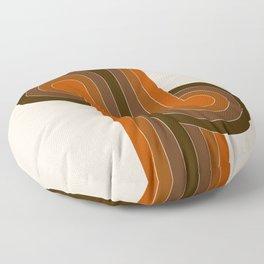 Cocoa Knots Floor Pillow