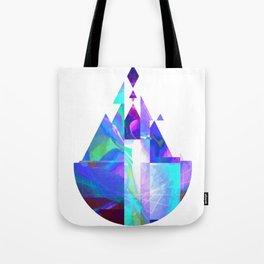 Purple Castle Tote Bag
