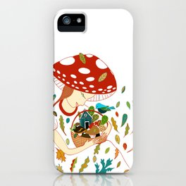 Autumn Women iPhone Case
