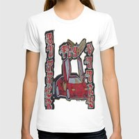 doors T-shirts featuring Butterfly Doors by The Headlinez Collection™