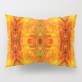 Living Passion Abstract Bliss By Omashte Pillow Sham