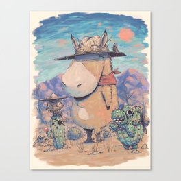 The West Canvas Print
