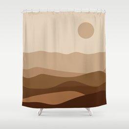 Grace of the desert Shower Curtain