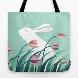 Rabbit, Resting Tote Bag