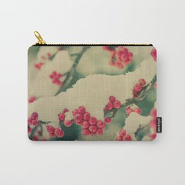 Winter Berry Carry-All Pouch