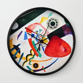 Red Spot II - Digital Remastered Edition Wall Clock