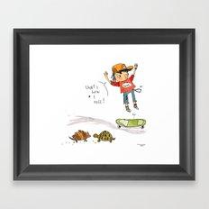 That's How I Roll Framed Art Print