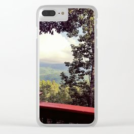 The Smokies Clear iPhone Case
