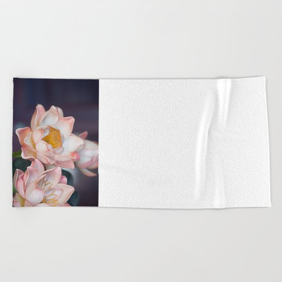 Lovely Water Lily II Beach Towel