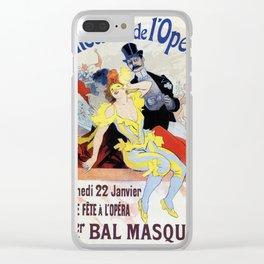 1897 Masquerade ball Paris Opera Clear iPhone Case