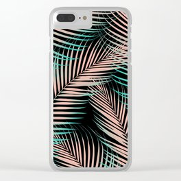 Palm Leaves - Cali Vibes #2 #tropical #decor #art #society6 Clear iPhone Case
