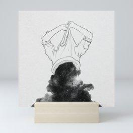 Its better to disappear. Mini Art Print