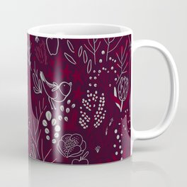 Burgundian winter holiday mood. Coffee Mug