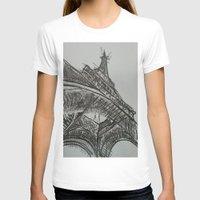 eiffel T-shirts featuring Eiffel by Esteban Garza