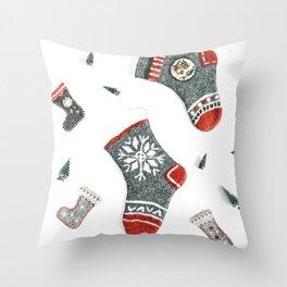 Winter Background 32 Throw Pillow