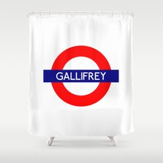 Gallifrey Shower Curtain