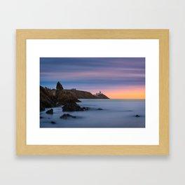Howth lighthouse - Ireland (RR200) Framed Art Print
